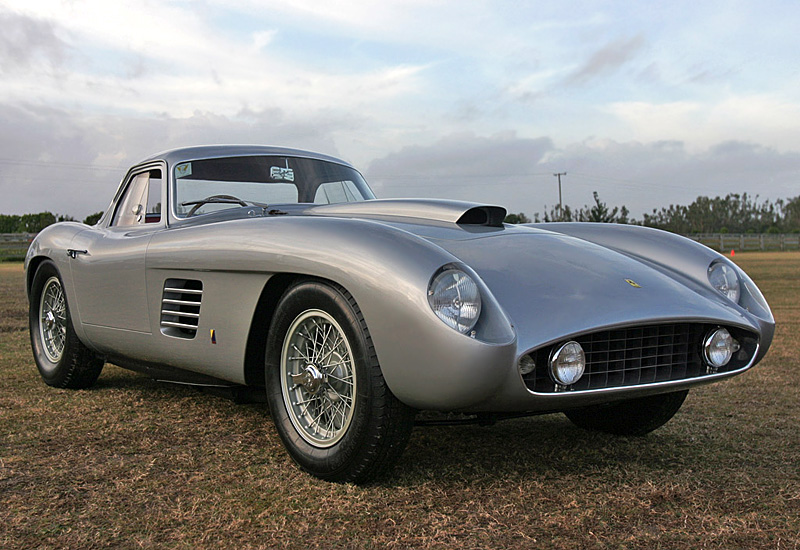 1954 Ferrari 375 MM Coupe Scaglietti; top car rating and specifications