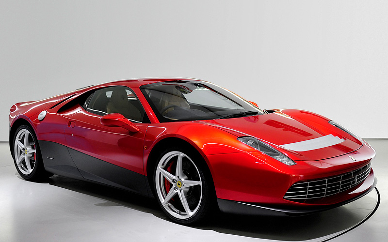 2012 Ferrari SP12 EC; top car design rating and specifications