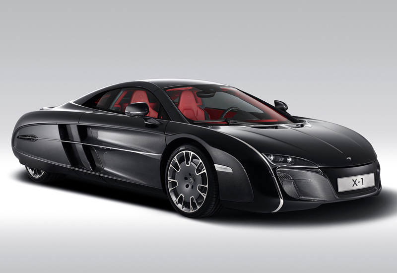 2012 McLaren X-1 Concept; top car design rating and specifications